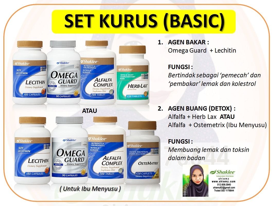 Set Kurus Shaklee Basic